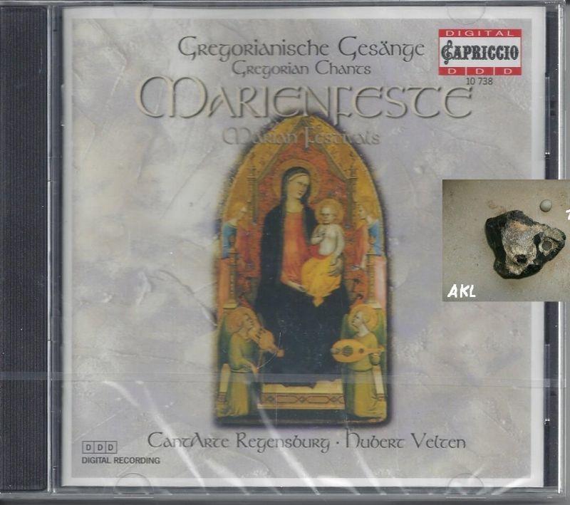 Gregorianische Gesänge, an Marienfesten, Cantarte Regensburg, CD