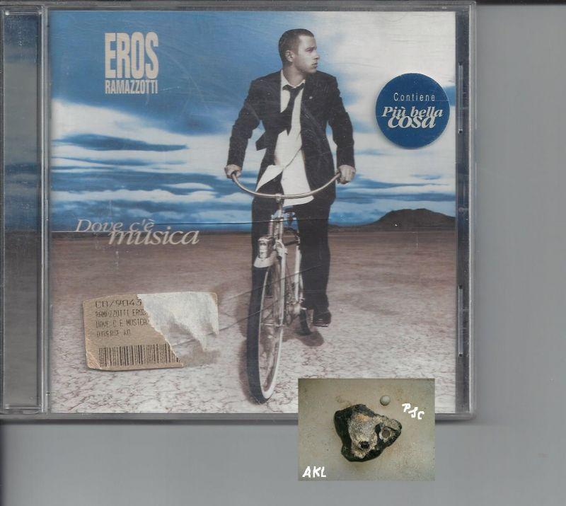 Eros Ramazzotti, Dove ce musica, CD