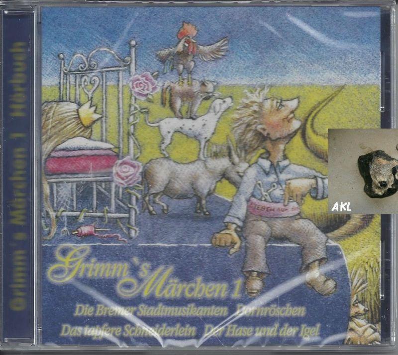 Grimms Märchen 1, CD, Dornröschen, Bremer Stadtmusikanten