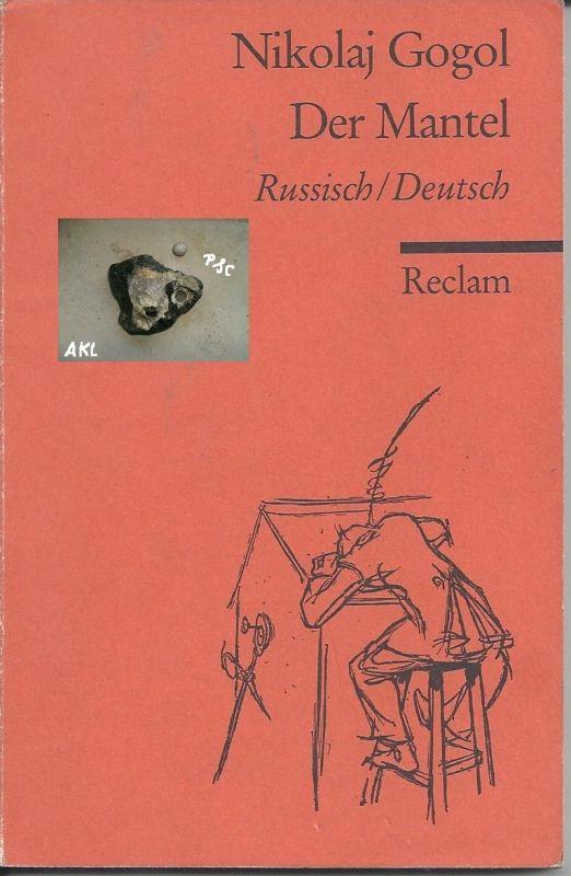 Der Mantel, Nikolaj Gogol, Reclam, russisch und deutsch