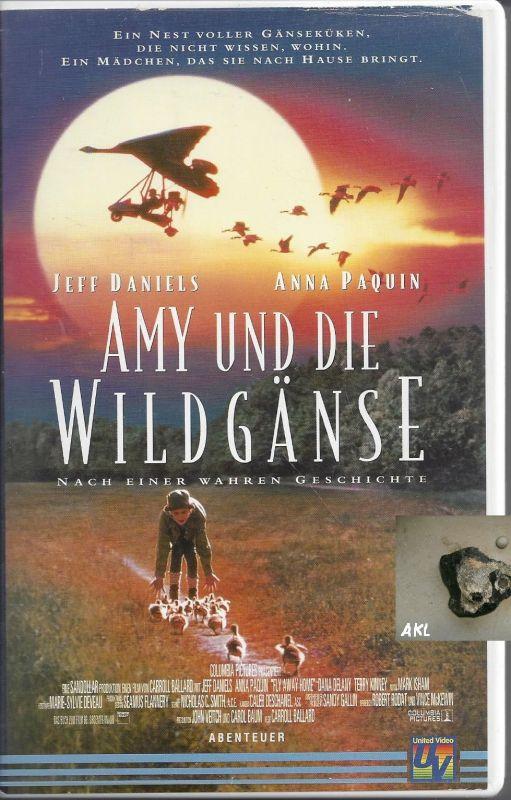 Amy und die Wildgänse nach einer wahren Geschichte, VHS Kassette