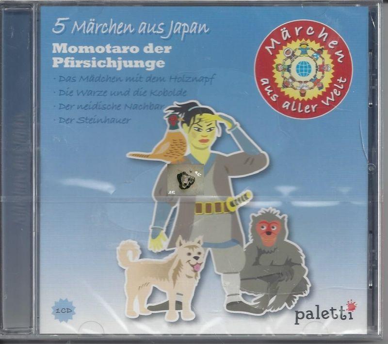 5 Märchen aus Japan, Momotaro der Pfirsichjunge, CD