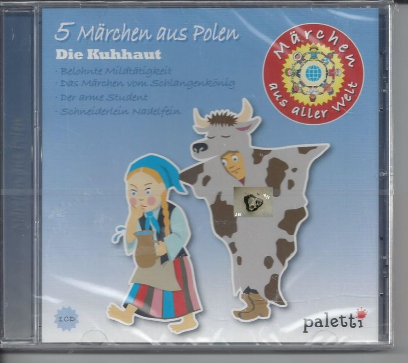 5 Märchen aus Polen, Die Kuhhaut, CD