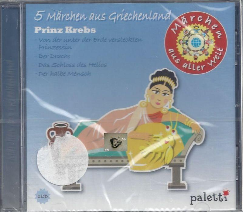 5 Märchen aus Griechenland, Prinz Krebs, CD
