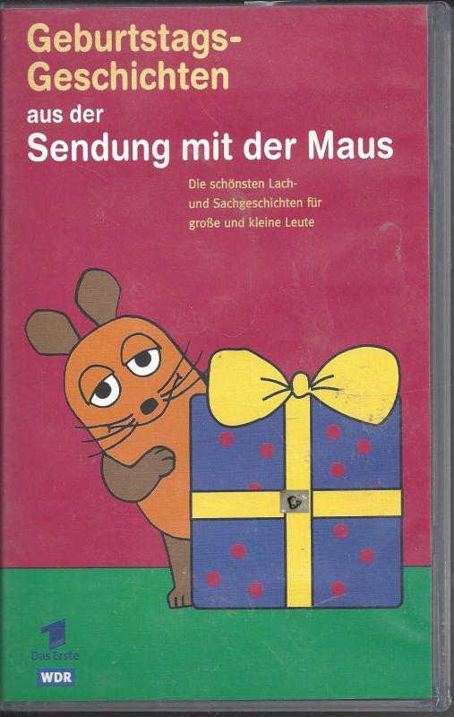 Geburtstagsgeschichten aus der Sendung mit der Maus, VHS