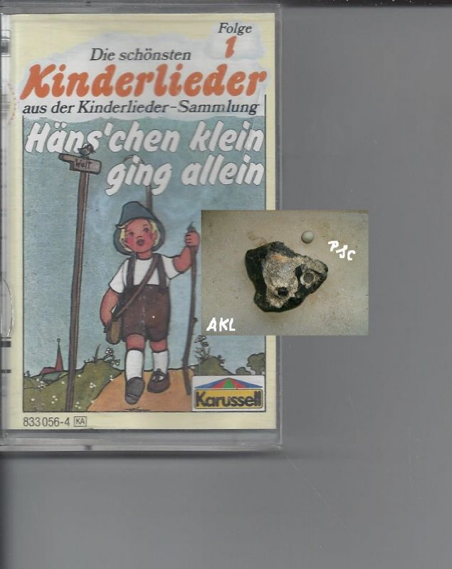 Die schönsten Kinderlieder 1, Hänschen klein ging allein, Kassette, MC