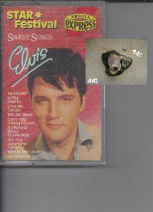 Elvis, Sweet Songs, Ariola express, Kassette, MC