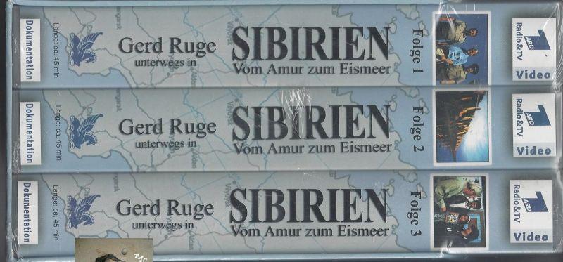 Gerd Ruge unterwegs in Sibirien, Vom Amur zum Eismeer, VHS