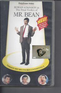Mr. Bean, The Final Frolics, VHS