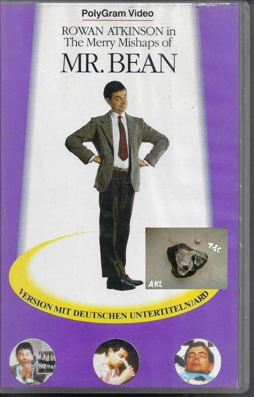 Mr. Bean, The Merry Mishaps, VHS