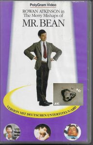 Mr. Bean, The Merry Mishaps, VHS