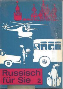 Russisch für Sie 2, Schulbuch, Lehrbuch, hueber, blau