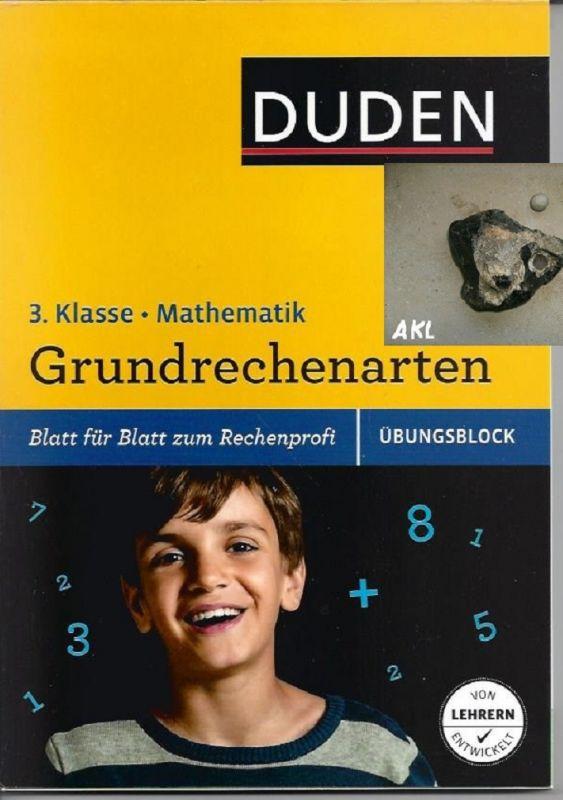 Grundrechenarten, 3. Klasse, Mathematik, Übungsblock