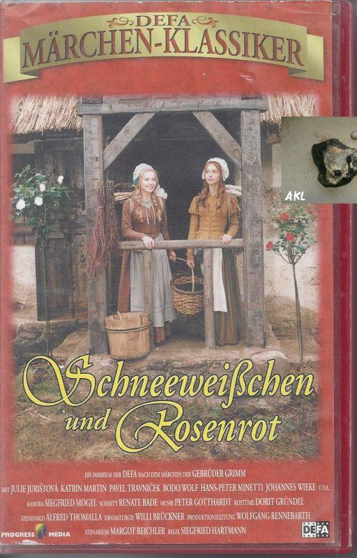 Schneeweißchen und Rosenrot, Märchen, Märchenklassiker, VHS