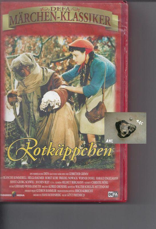 Rotkäppchen, Märchen, Märchenklassiker, VHS