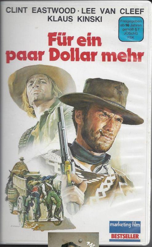 Für ein paar Dollar mehr, VHS