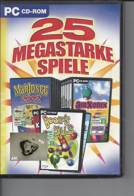 25 megastarke Spiele, CD-Rom