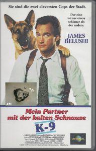 Mein Parnter mit der kalten Schnauze, K-9, VHS