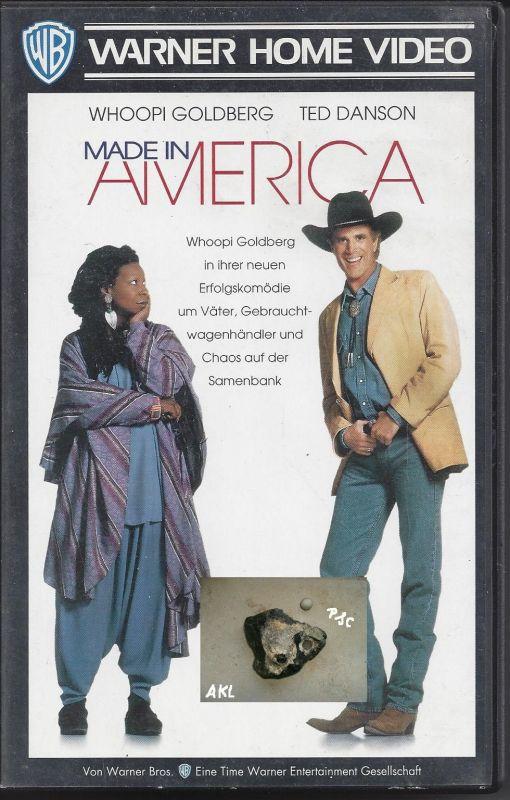 Made in America, Whoopi Goldberg, VHS