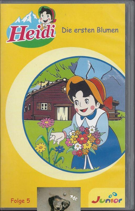 Heidi, Die ersten Blumen, Junior, VHS