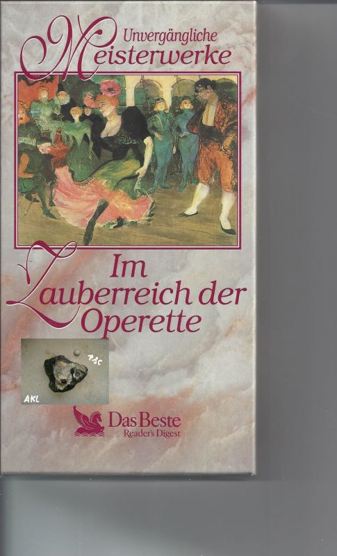 Im Zauberreich der Operette, Kassetten, MC