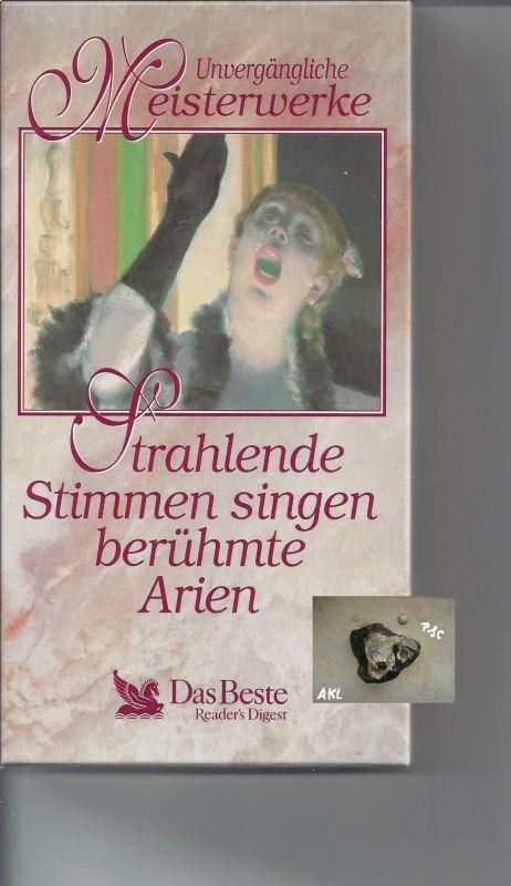Strahlende Stimmen singen berühmte Arien, Kassetten, MC