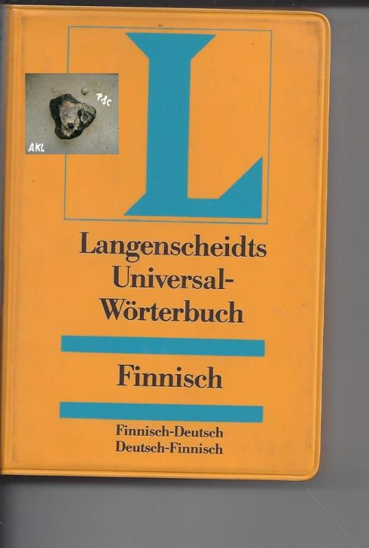 Langenscheidts Universal Wörterbuch, Finnisch