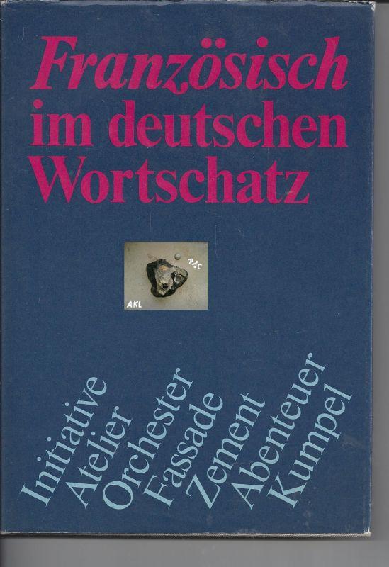 Französisch im deutschen Wortschatz, Rudolf Telling