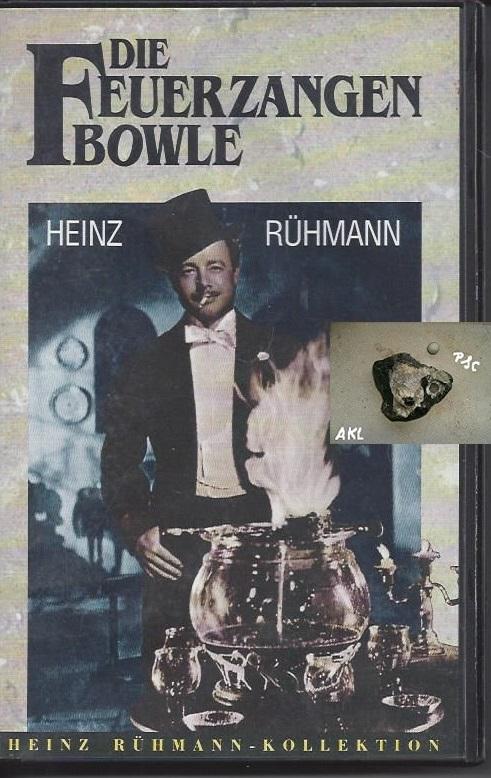 Die Feuerzangenbowle, Heinz Rühmann, VHS