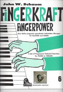 Fingerkraft, Powerkraft 6,  für Klavier und Orgel