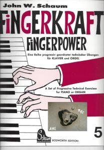 Fingerkraft, Powerkraft 5,  für Klavier und Orgel