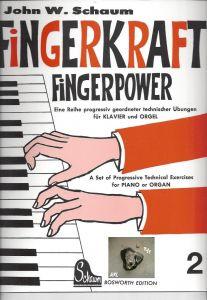 Fingerkraft, Powerkraft 2,  für Klavier und Orgel