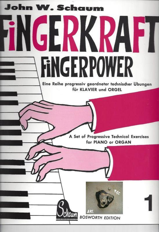 Fingerkraft, Powerkraft 1,  für Klavier und Orgel