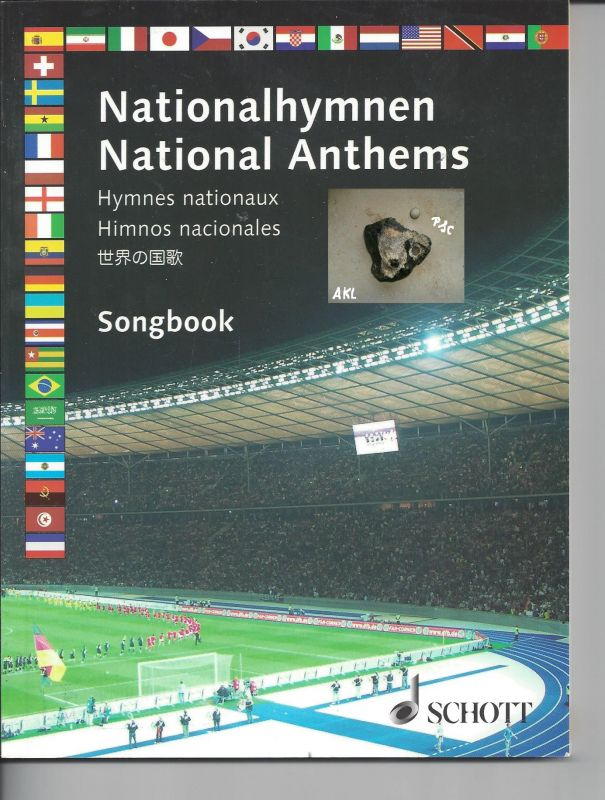 Nationalhymnen, National Anthems, Songbook