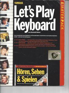 Lets Play Keyboard, Starterpack, Yamaha, Kenneth Baker
