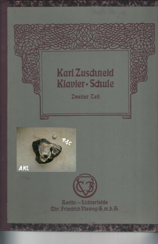 Karl Zuschneid, Klavierschule, Zweiter Teil