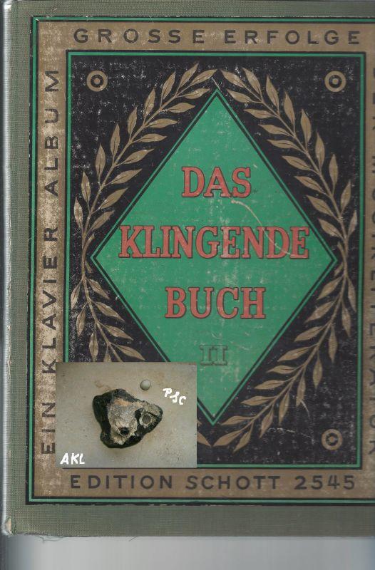 Das klingende Buch II, Edition Schott 2545, für Klavier