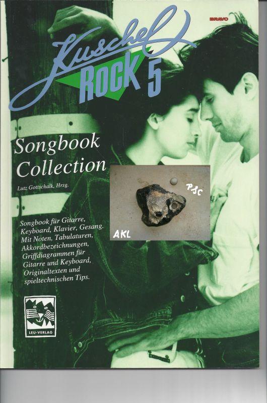 Kuschel Rock 5, Songbook Collection für Klavier, Gitarre, Keyboard