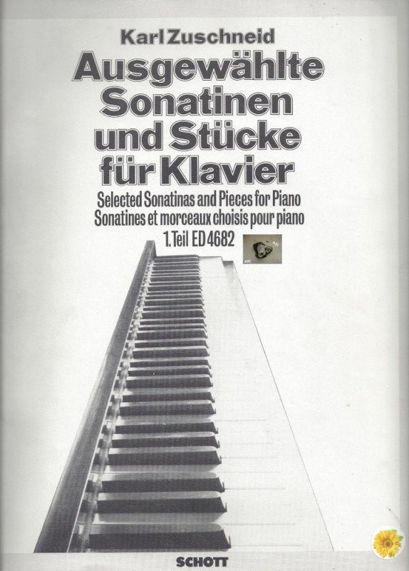 Karl Zuschneid, ausgewählte Sonatinen und Stücke für Klavier