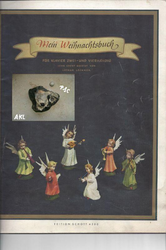 Mein Weihnachtsbuch für Klavier zwei und vierhändig, Schott