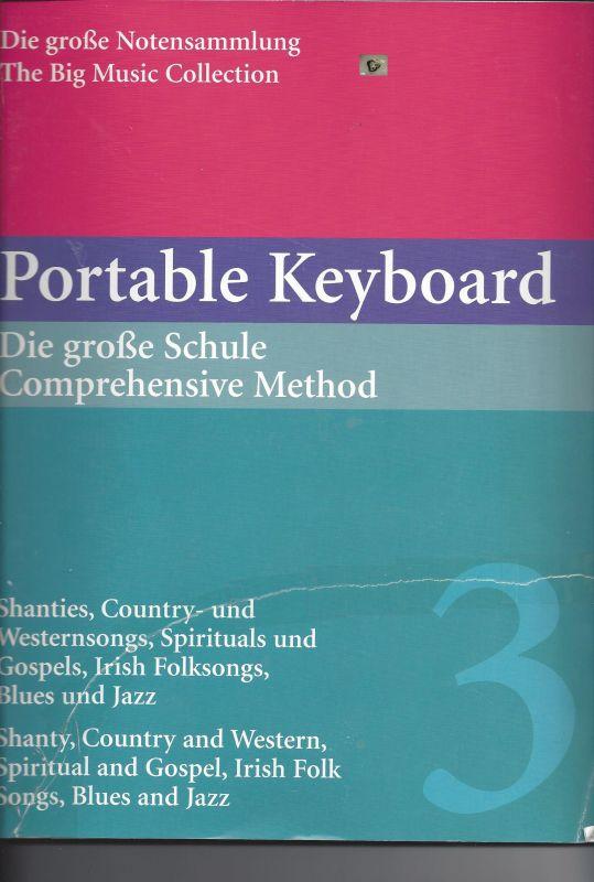Portable Keyboard, die große Schule, Band 3