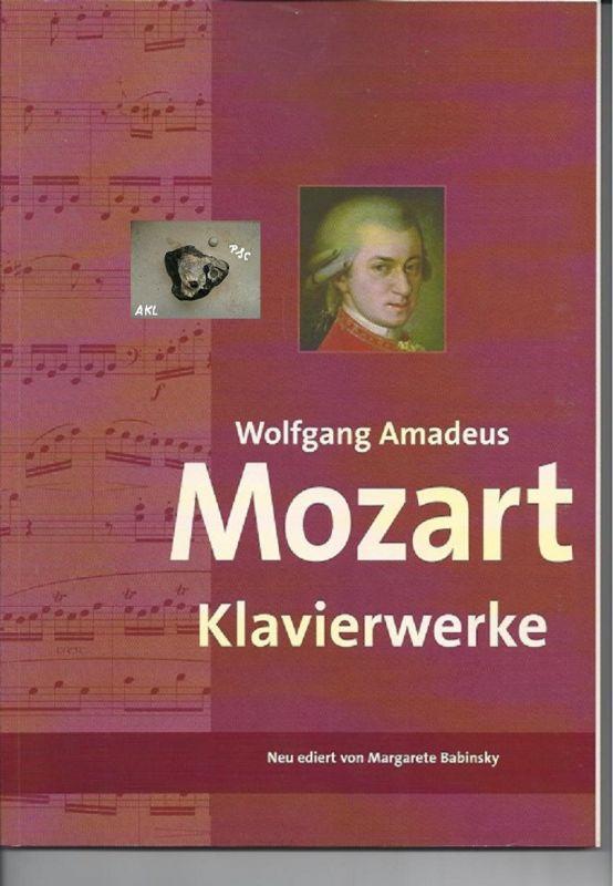 Mozart Wolfgang Amadeus, Klavierwerke, Margarete Babinsky