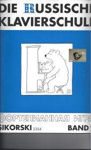 Die russische Klavierschule, Band 2, Sikorski 2354