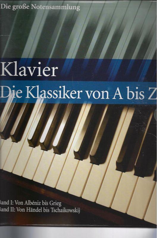 Klavier, Die Klassiker von A bis Z, 2 Bände