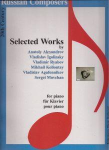 Russian Composeres, 20th Century, Selected Works, für Klavier