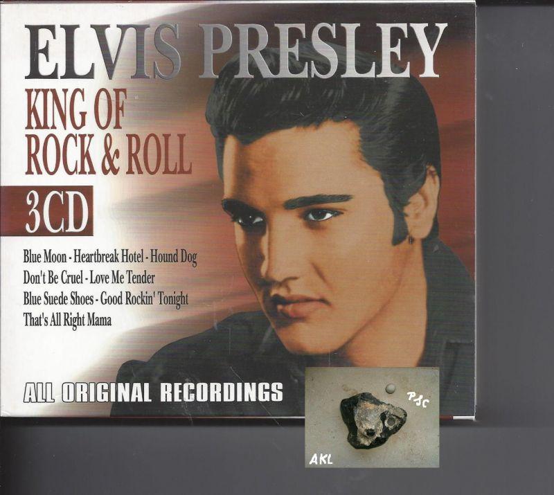 Elvis Presley, King of Rock & Roll, CD