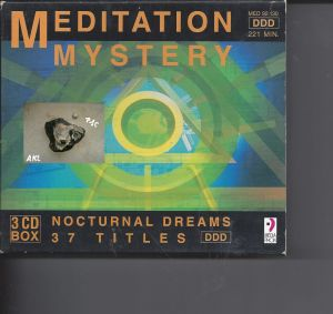 Meditation Mystery, Nocturnal Dreams, 37 Titles, CD