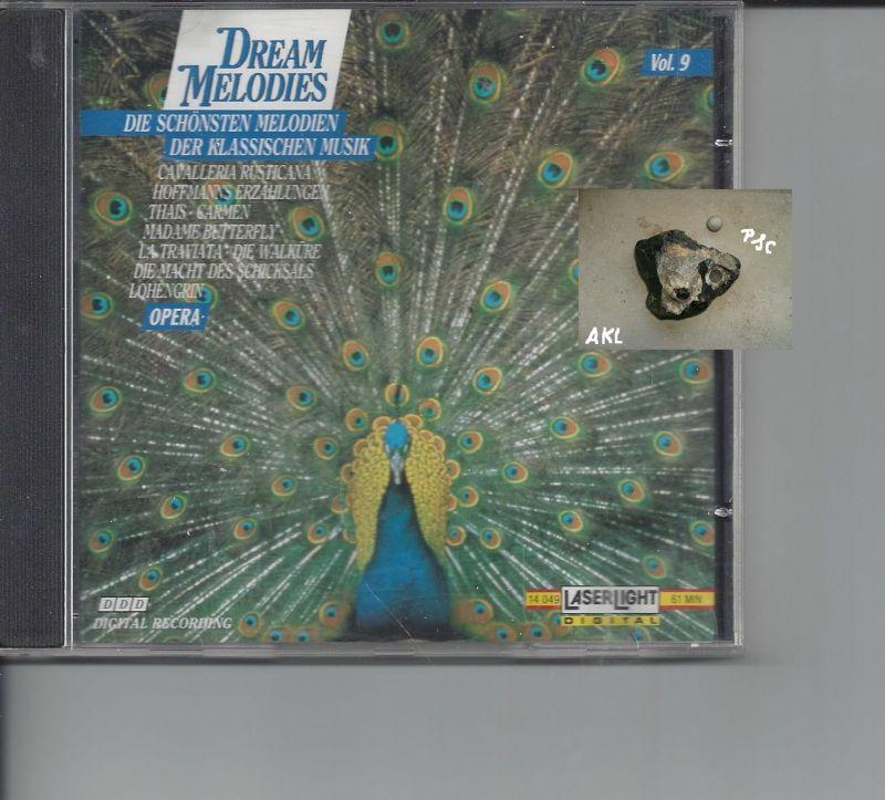 Dream Melodies, Vol 9, Opera, CD