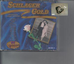 Schlager Gold, 80 Titel, CD