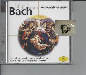 Johann Sebastian Bach, Weihnachtsoratorium, CD